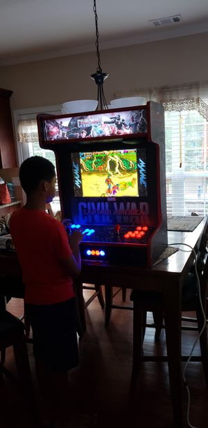 Custom 2 player Arcade slim design better than Arcade1up 3,000+ games for Sale in Stone Mountain, GA