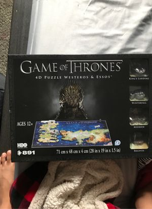 Brand new game of thrones puzzle for Sale in Monroe, WA