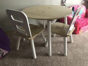 Kids table with 2 chairs for Sale in Whitman, MA
