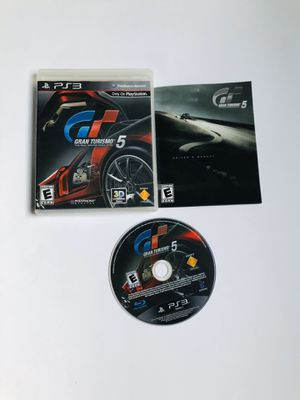 Gran turismo 5 PlayStation 3 for Sale in Long Beach, CA