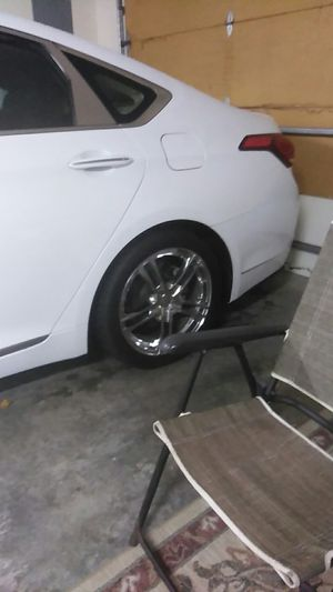 New racing tires and New rims only 3 months old 1300 paid 1800 for them for Sale in Wilmington, NC