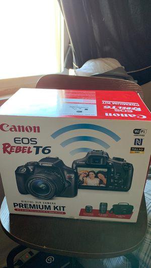 Canon Rebel T6 PREMIUM KIT for Sale in Bloomington, CA