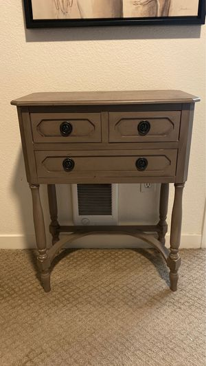 Home Goods Nightstand/console table for Sale in San Jose, CA