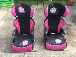 2 Evenflo Big Kid Sport High Back Booster Car Seats for Sale in Berwyn, IL