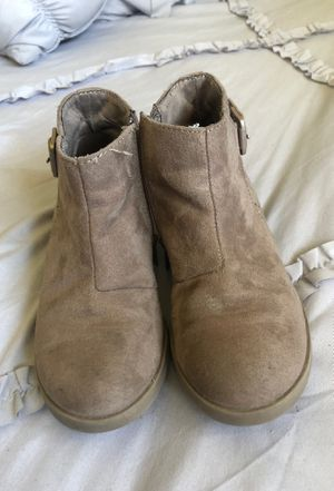 Girl ankle boots size 12 for Sale in Hollister, CA