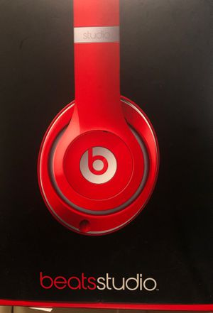 Red Beats Studio 2.0 Wired Over Ear Headphones for Sale in Culver City, CA