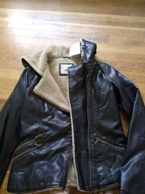 Levi's Women's Leather Coat for Sale in Taylor, MI