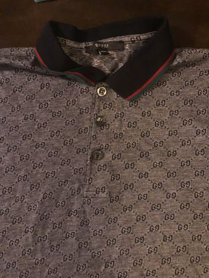 Gucci collard shirt for Sale in Pittsburgh, PA