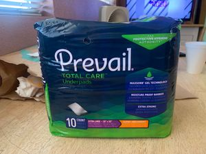 Prevail underpads for Sale in Rialto, CA