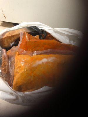 Five chicken bags for Sale in Riverside, CA