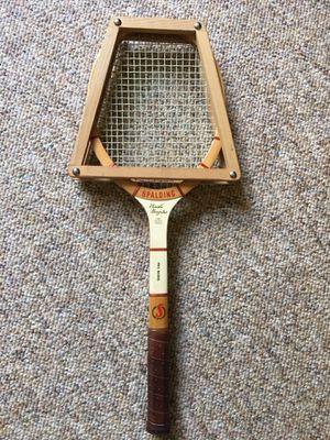 Vintage Spaulding Pancho Gonzales Pro tennis racket for Sale in Hillsborough, NC