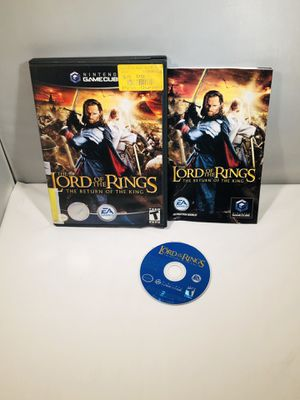 Lord of the rings return of the king Nintendo GameCube for Sale in Long Beach, CA