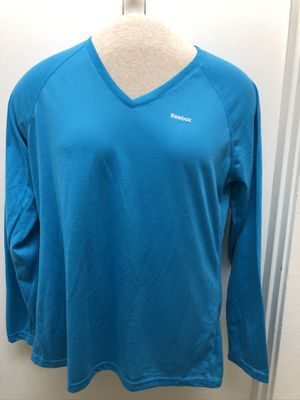 2 New Women's L/S Active Tops Lg Reebok for Sale in Mountain View, CA