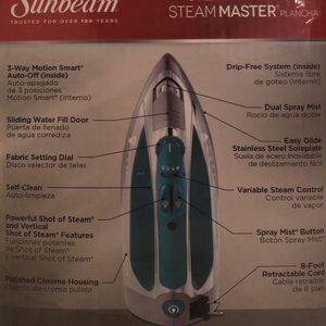 Sunbeam Steam Master Iron for Sale in Houston, TX