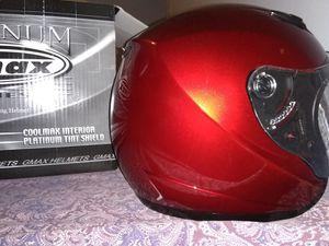 Gmax - Motorcycle Helmet - Cool Max Interior - Platinum Tint Shield for Sale in Bristol, VA