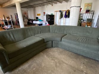 Green Sectional Couch for Sale in Long Beach,  CA
