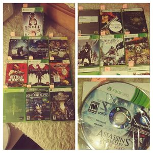 XBOX 360° GAMES for Sale in Snohomish, WA