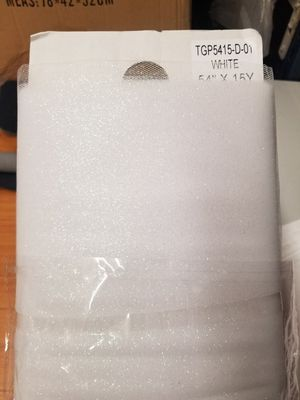 """54"""" Glitter tulle sold by 15 yards bolt for Sale in Compton, CA"""