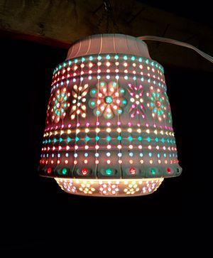 Vintage light brite hanging lamp for Sale in Portland, OR