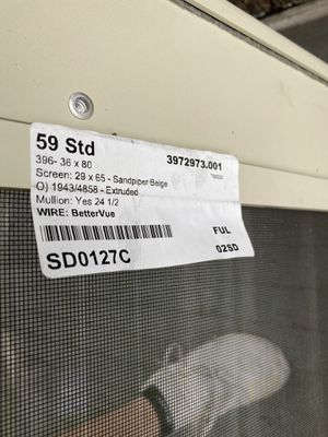 Full View Screen Door Brand New for Sale in Cleveland, OH
