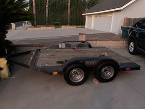 Double axle heavy duty trailer and haul a jeep and other toys for Sale in Riverside, CA
