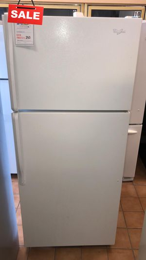 FIRST COME!!CONTACT TODAY! Refrigerator Fridge Whirlpool With Warranty #1480 for Sale in Aspen Hill, MD