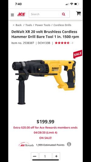 Rotary hammer drill for Sale in Arvada, CO