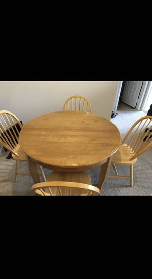 Dining table with 4 chairs for Sale in Littleton, CO