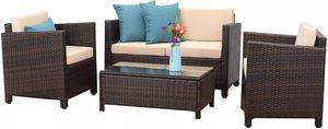 5 Piece Outdoor Patio Conversation Furniture Set for Sale in Los Angeles, CA