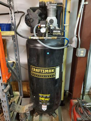 Craftsman 60 gal Air Compressor for Sale in Spring, TX
