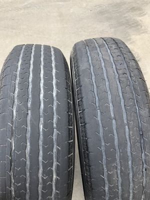 Trailer tires 8 plys for Sale in Selma, CA