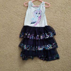 Elsa Dress Size 7/8 for Sale in Irvine, CA