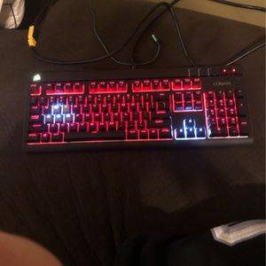 Corsair Gaming Keyboard And Mouse for Sale in Mountain Top, PA