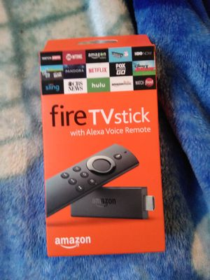 Fire TV stick with Alexa voice remote for Sale in Lynnwood, WA