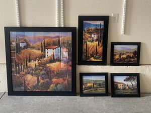 5 piece art set! for Sale in Parker, CO