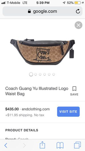 Coach Waist Bag Authentic for Sale in Los Angeles, CA
