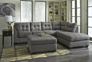 [SPECIAL] Maigfter Charcoal RAF Sectional for Sale in Beltsville, MD