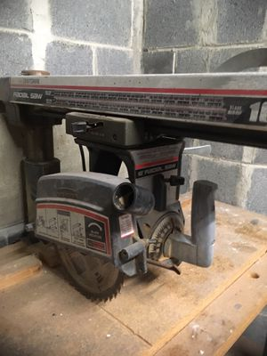 Craftsman radial arm saw for Sale in Washington, DC