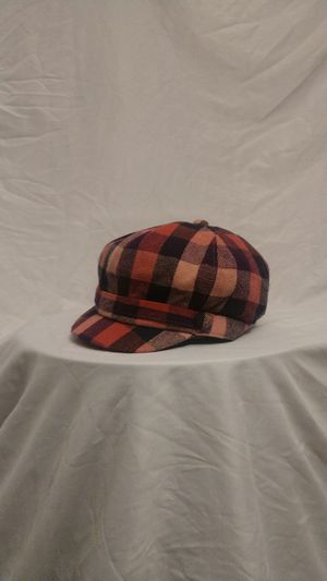 Women's hat -New plaid pink free shipping for Sale in Willingboro, NJ