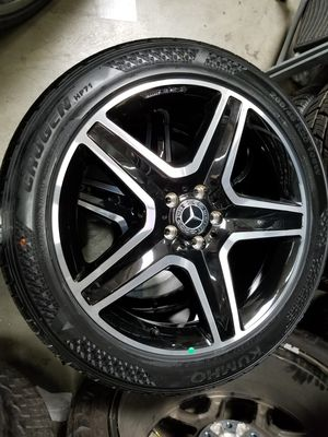 "Brand new AMG Mercedes 20"" Original Wheels Rims Tires for GLE ML Models OEM Black for Sale in Los Angeles, CA"