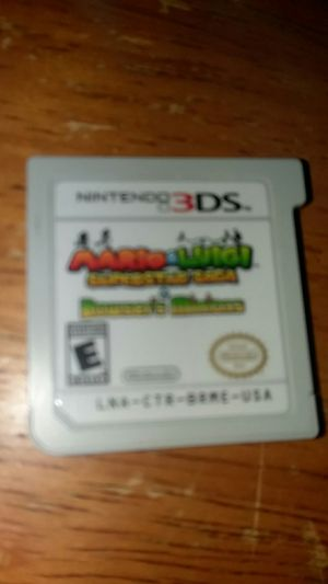 Mario and Luigi super star saga 3ds for Sale in Jersey Shore, PA