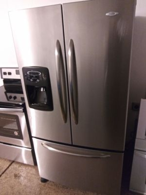 Stainless steel kitchen appliances French door refrigerator stove microwave and dishwasher for Sale in Phoenix, AZ