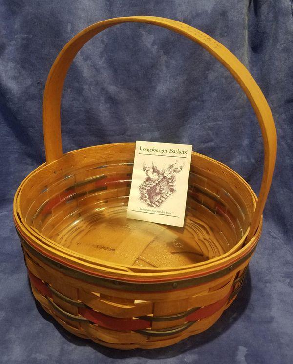 Longaberger Crisco American Cookie Celebration Basket