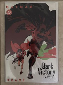 Batman Dark Victory No 13 Peace DC Comics Softcover New for Sale in Levittown,  NY