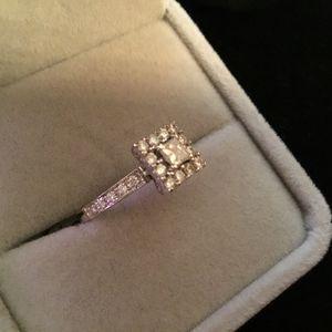 14k White Gold Diamond Ring for Sale in Irving, TX