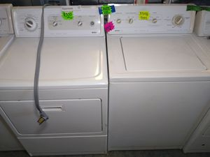 Kenmore Electric washer dryer set highly recommend for Sale in Fresno, CA