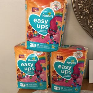 Pampers Easy Ups 4/5 for Sale in Cicero, IL