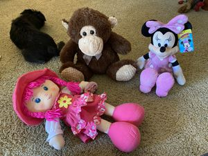 Stuffed characters/animal, peluches for Sale in Santa Ana, CA