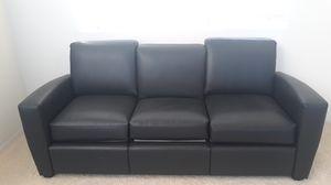 Black leather sofas for Sale in Hemet, CA