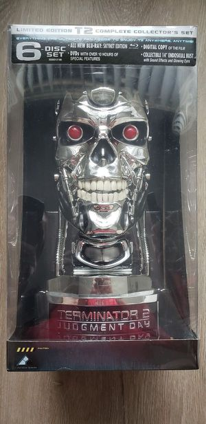Factory Sealed Limited Edition Terminator 2 Blu-ray Complete Collector's Set for Sale in Orlando, FL